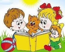 Картинки по запросу діти і  книга літо картинки